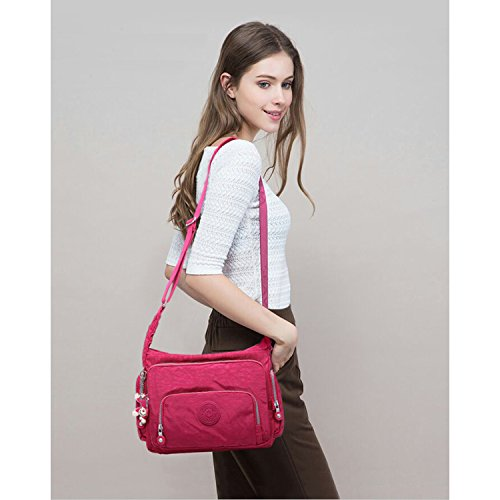 Brown For Sport Bookbag Side Travel Fashion Messenger Pack Designer Satchel Body Shoulder Girls Cross Foino Crossbody Bag Women Tx4aqO7