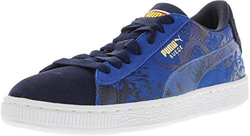 Puma Superman 2 Suede Peacoat/Princess Blue Ankle-High Fashion Sneaker - 6.5M by PUMA (Image #1)