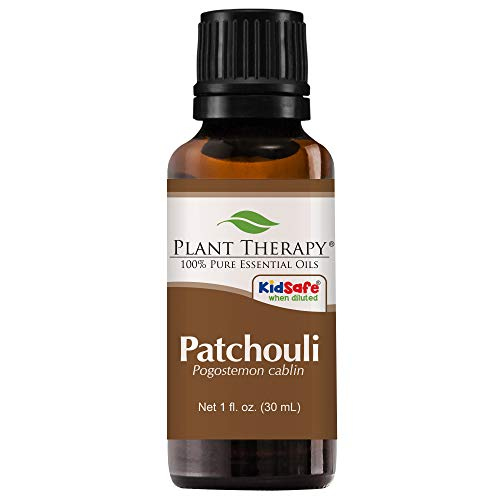 Plant Therapy Patchouli Essential Oil. 100% Pure, Undiluted, Therapeutic Grade. 30 ml (1 oz). (Pachuli Oil)