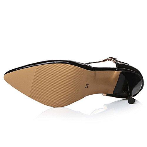 Zanpa Donna 1 T Strap Sandali Mode Black rr4Fgdnqw