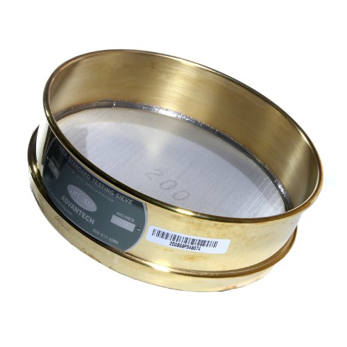 advantech-brass-test-sieves-with-stainless-steel-wire-cloth-mesh-8-diameter-200-mesh-full-height