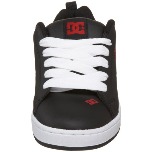 Red DC Graffik Men's Court White SE Black Sneaker xqwz60qBR