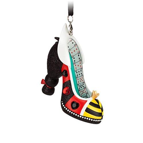 Disney Parks Alice in Wonderland Shoe Figurine Ornament NEW