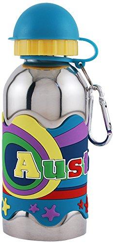 NameStar Kid's Austin Water Bottle (Kids Personalized Name Water Bottle)