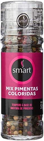 Mix Pimentas Coloridas com Moedor Smart 50g