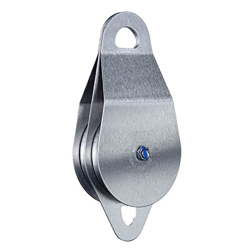 SMC/RA 4'' Stainless Steel Double Pulley - Bearing by Seattle Manufacturing Corporation