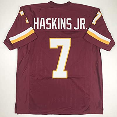 brand new f29e3 d505e Amazon.com: Unsigned Dwayne Haskins Washington Burgundy ...