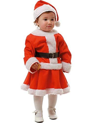 DISBACANAL Disfraz de Mamá Noel niña - Único, 6 años: Amazon ...