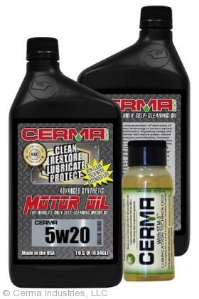 Cerma Gas Engine Treatment Package Kit 5w-20w 15,000 Mile Oil by Cerma