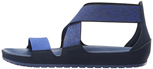 Crocs Women S Anna Ankle Strap Gladiator Sandal Navy