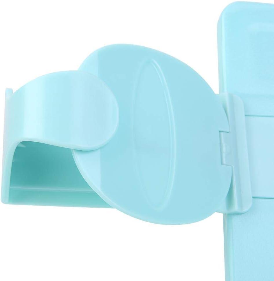 Tragbarer faltbarer Lesest/änder aus Kunststoff mit verstellbarem B/ücherregal