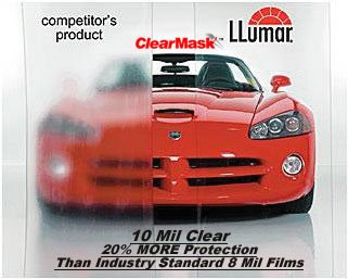 ClearMask Door Edge Guard Paint Protection Strips 4 1//2 inch by 36 inches