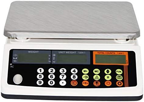 WCX Laborwaage Hochpräzise Digital Genau Analytisch Elektronische Waage Industriewaage Mit Zählfunktion (Farbe...