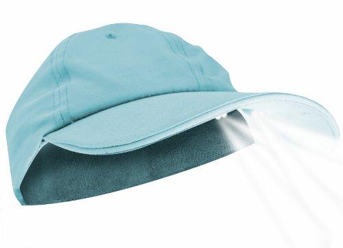 Pup PowerCap Ladies 100% Polyester Microfiber Sky blue LED Lighted Cap, My Pet Supplies