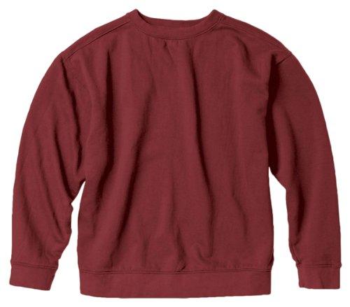 Chouinard Comfort Colors Pigment-Dyed Crewneck Sweatshirt. 1566 - Small - Crimson (Colour Pigment)