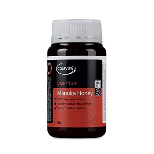 Comvita Certified UMF 15+ (MGO 515+) Manuka Honey I New Zealand's #1 Manuka Brand I Raw, Non-GMO, Halal, and Kosher   Super Premium Grade (8.8 oz)