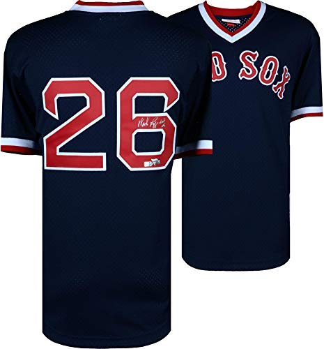Wade Boggs Boston Red Sox Autographed Mitchell and Ness Batting Practice Replica Jersey with