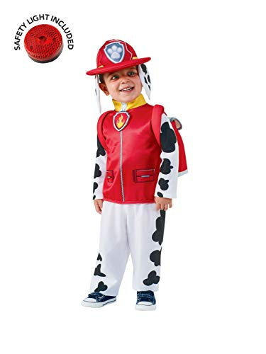Paw Patrol Marshall Classic Costume Kit with Safety Light - Kids M