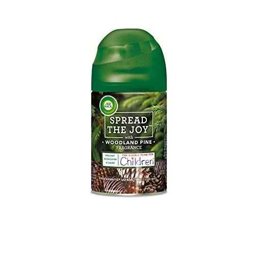 Air Wick Holiday Freshmatic Automatic Spray, Woodland Pine, 6.17oz, Air (Pine Air Freshener)