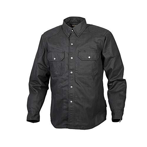 (Scorpion Covert Flannel Shirt (LARGE) (BLACK/BROWN/GREY))