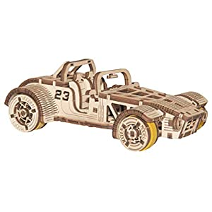Wooden City Puzzle 3d Di Legno Roadster
