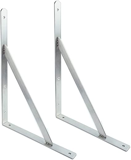 escuadras para estanterias estante en forma de L de acero ...