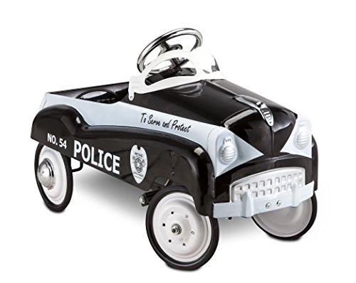 InStep Kids Toy Pedal Car, Police Car