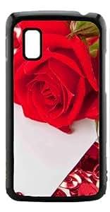 HeartCase Hard Case for Google Nexus 4 LG E960 ( Romantic Rose Flower ) by ruishername