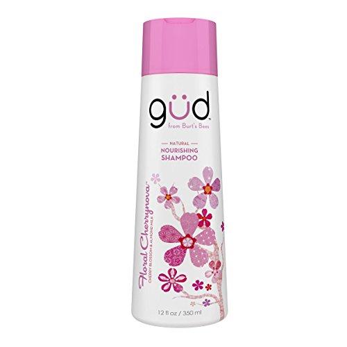 Gud Floral Cherrynova Natural Nourishing Shampoo, 12 Fluid Ounces
