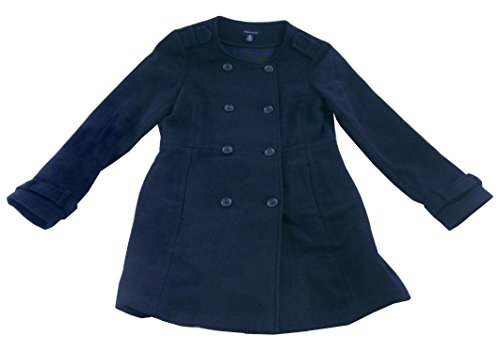 Tommy Hilfiger Womens Double-Breasted Wool PeaCoat, New Masters Navy, Large