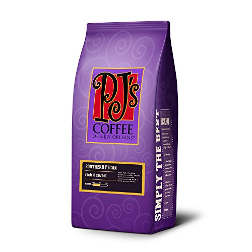 PJ's Coffee of New Orleans, Southern Pecan (Ground - Coffee Orleans New Roasted