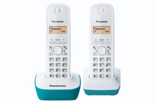 150 opinioni per Panasonic KX-TG1612FRC, Telefono Duo cordless DECT senza segreteria, Colore Blu