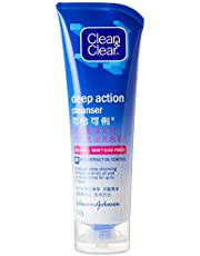 Clean & Clear Deep Action Oil-Free Cleanser, 100 grams
