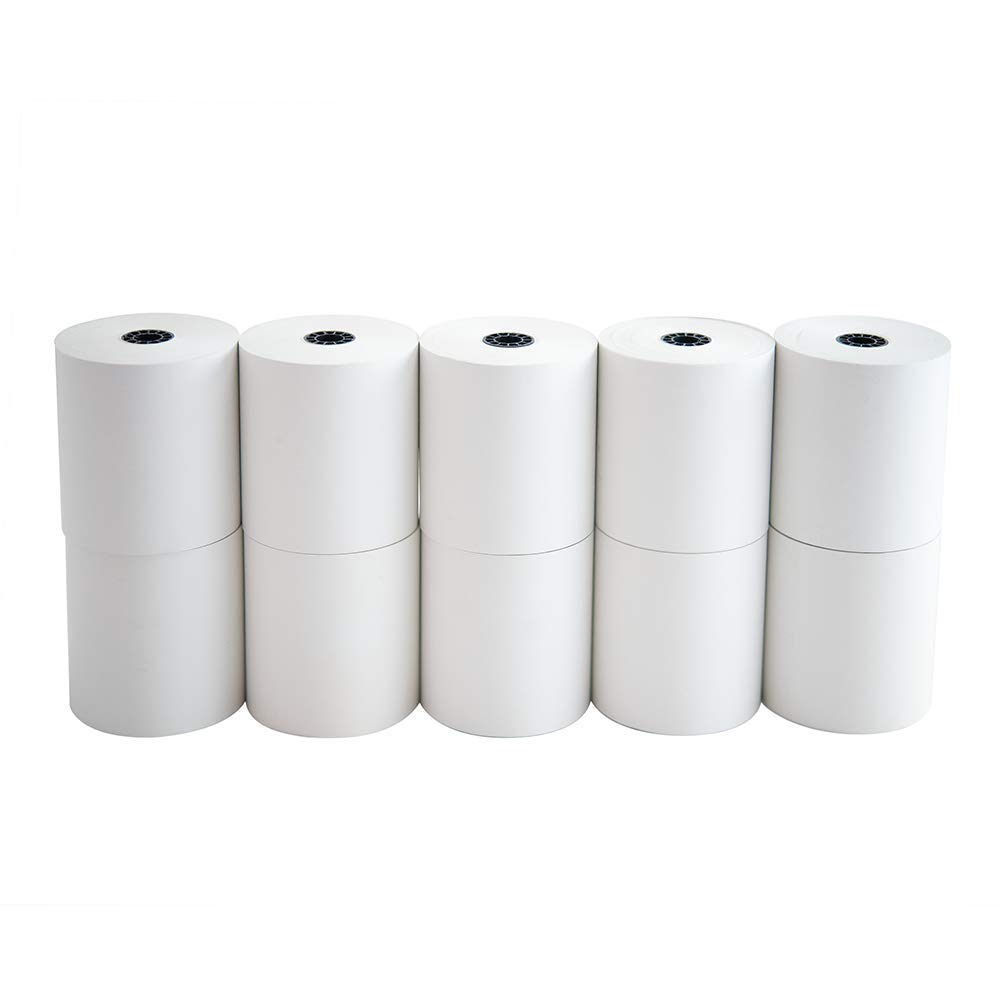 Nashua Inc Thermal Cash Register Receipt Paper Bpa Free 3 1 8 X 230 10 Rolls Per Case