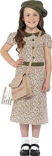 Evacuee Girl Costume (1940 Fancy Dress Costumes)