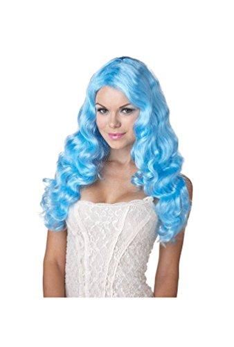 Sweet Tart Adult Wig Baby Blue]()