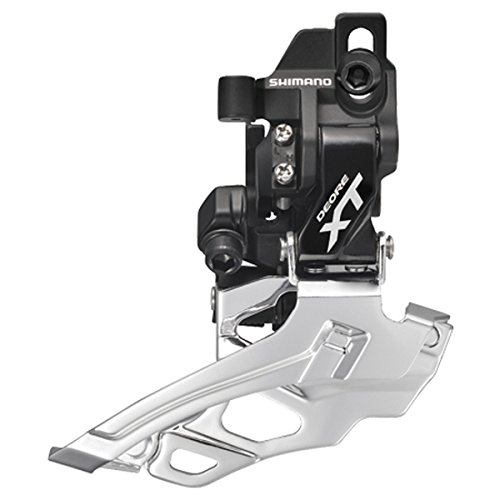 SHIMANO FD-M786-D XT Front Derailleur 2x10 High-Clamp (Black, Direct Mount)