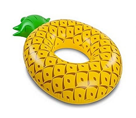 LA VAGUE Pineapple Flotador de Piscina, Amarillo / Verde, Única: Amazon.es: Deportes y aire libre