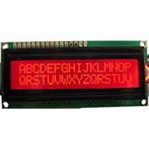 HD44780 16x2 Red Text LCD