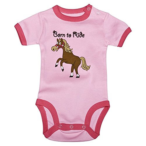 Horse Born To Ride Baby One Piece - 6 - Ride Sea World