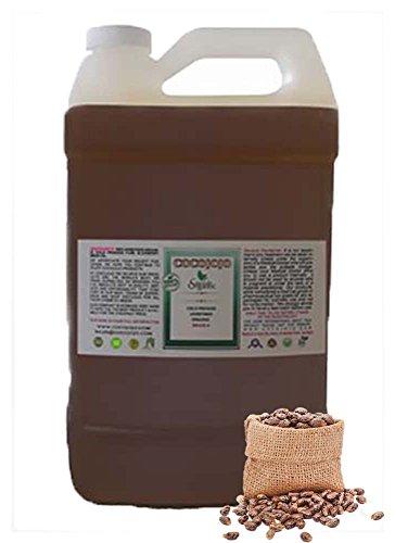 Jamaican Black Castor Oil 100% Pure , Refined, Cold Pressed (1 Gallon) by COCOJOJO