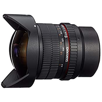 Image of Camcorder Lenses SAMYANG 8 mm f/3.5 UMC CS II fisheye Lens - for Micro Four Thirds