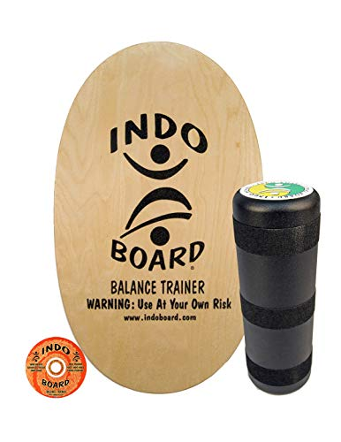 """INDO BOARD Original Balance Board with 6.5"""" Roller and 30"""""""