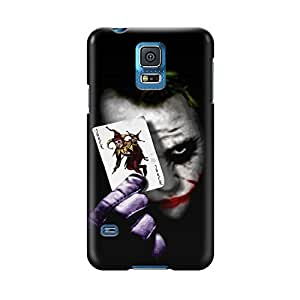S50614 Joker Glossy Case Cover For Samsung Galaxy S5 by Maris's Diary