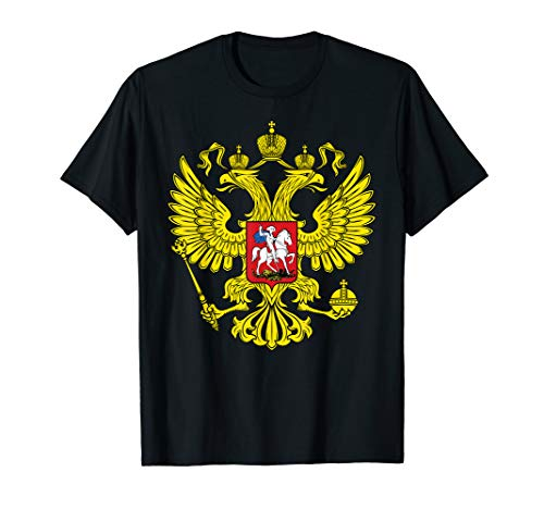- Amdesco Russian Coat of arms, Coat of Arms of Russia Shirt