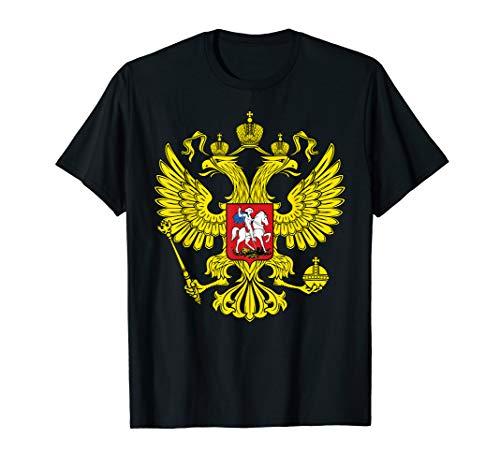 Amdesco Russian Coat of arms, Coat of Arms of Russia Shirt ()