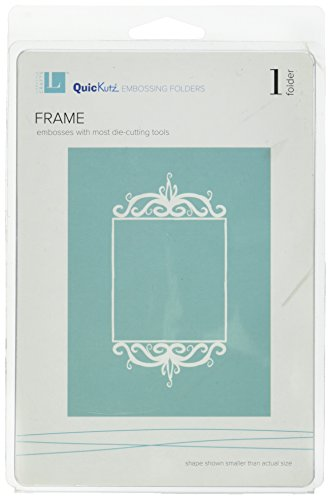 QUICKUTZ We R Memory Keepers Frame, A2-Size, Embossing Folder