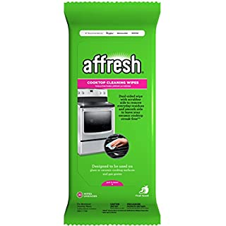 Affresh W10539770 Cooktop Cleaning Wipes Stove Top Cleaner, 30 Piece