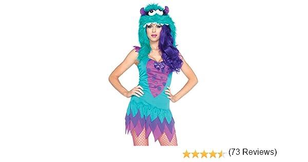 Leg Avenue - Disfraz de monstruos sa para mujer, talla UK 10-12 ...
