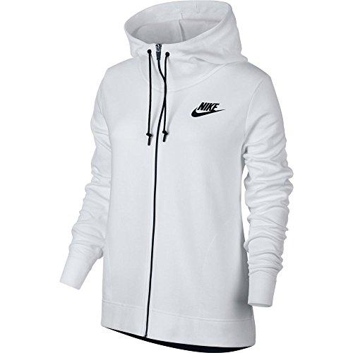 taille Fr Nike Capuche 100 Vest Blancnoir A Zipee L 857416 qzFwqp